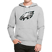 '47 Men's Philadelphia Eagles Headline Grey Pullover Hoodie