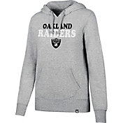 '47 Women's Oakland Raiders Headline Grey Pullover Hoodie