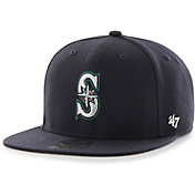 '47 Youth Seattle Mariners Lil' Shot Captain Navy Adjustable Snapback Hat
