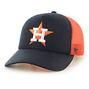 '47 Youth Houston Astros Barlow Captain Grey Adjustable Snapback Hat