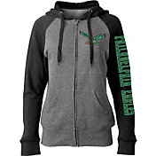 5th & Ocean Women's Philadelphia Eagles Throwback Grey Full-Zip Hoodie
