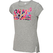 adidas Girls' On My Game Graphic T-Shirt