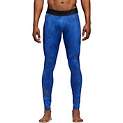adidas Men's Alphaskin Sport Printed Training Tights