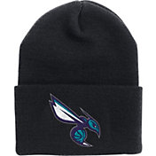 '47 Men's Charlotte Hornets Black Cuffed Knit Hat