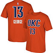 adidas Men's Oklahoma City Thunder Paul George #13 Orange T-Shirt