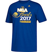 adidas Men's 2017 Western Conference Champions Golden State Warriors Locker Room Royal T-Shirt