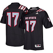 adidas Men's NC State Wolfpack #17 Black Premier Replica Football Jersey