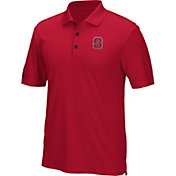 adidas Men's NC State Wolfpack Red Performance Polo