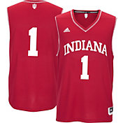 adidas Men's Indiana Hoosiers Crimson #1 Replica Basketball Jersey