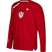 adidas Men's Indiana Hoosiers Crimson Basketball Shooting Shirt
