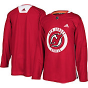 adidas Men's New Jersey Devils Authentic Pro Red Practice Jersey