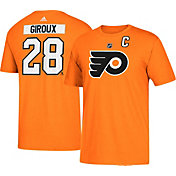 adidas Men's Philadelphia Flyers Claude Giroux #28 Orange T-Shirt