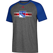 adidas Men's New York Rangers Resurface Ultimate Grey Performance T-Shirt