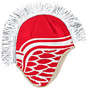 adidas Men's Detroit Red Wings Mohawk Red Knit Beanie