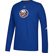 adidas Men's New York Islanders Primary Position Ultimate Navy Long Sleeve Shirt