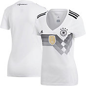 adidas Women's Germany Replica Home White Stadium Jersey