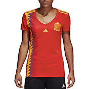adidas Women's Spain Replica Home Red Stadium Jersey