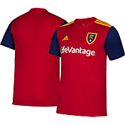 adidas Youth Real Salt Lake Primary Replica Jersey
