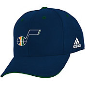 adidas Youth Utah Jazz Adjustable Hat