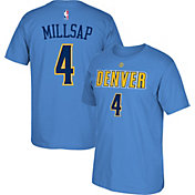 adidas Youth Denver Nuggets Paul Millsap #4 Light Blue T-Shirt
