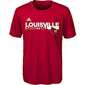 adidas Youth Louisville Cardinals Cardinal Red On-Court Ultimate Short Sleeve T-Shirt