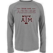 Gen2 Youth Texas A&M Aggies Grey Straight Pass Long Sleeve Shirt