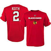 adidas Youth Chicago Blackhawks Duncan Keith #2 Red T-Shirt