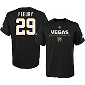 adidas Youth Vegas Golden Knights Marc-Andre Fleury #29 Black T-Shirt
