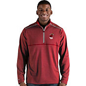 Antigua Men's Miami Heat Prodigy Quarter-Zip Pullover