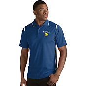 Antigua Men's 2017 NBA Finals Golden State Warriors Merit Royal Performance Polo