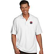 Antigua Men's Washington Wizards Xtra-Lite White Pique Performance Polo