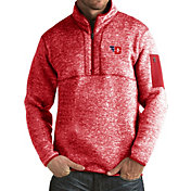 Antigua Men's Dayton Flyers Red Fortune Pullover Jacket