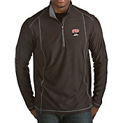 Antigua Men's UNLV Rebels Black Tempo Half-Zip Pullover
