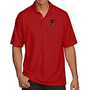 Antigua Men's UNLV Rebels Scarlet Pique Xtra-Lite Polo
