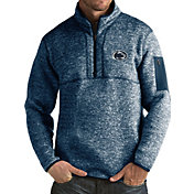 Antigua Men's Penn State Nittany Lions Blue Fortune Pullover Jacket