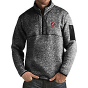 Antigua Men's San Diego State Aztecs Black Fortune Pullover Jacket