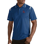 Antigua Men's Tulsa Golden Hurricane Merit Xtra-Lite White Polo