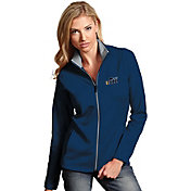 Antigua Women's Utah Jazz Leader Navy Full-Zip Fleece