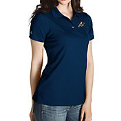 Antigua Women's Navy Midshipmen Navy Inspire Performance Polo