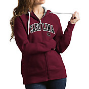 Antigua Women's South Carolina Gamecocks Garnet Victory Full-Zip Hoodie