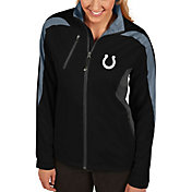 Antigua Women's Indianapolis Colts Discover Full-Zip Black Jacket