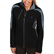 Antigua Women's Carolina Panthers Discover Full-Zip Black Jacket