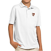 Antigua Youth Bowling Green Falcons White Pique Polo