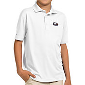 Antigua Youth Georgia Southern Eagles White Pique Polo