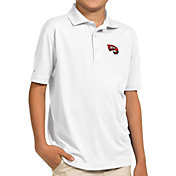 Antigua Youth Western Kentucky Hilltoppers White Pique Polo