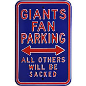 Authentic Street Signs New York Giants Parking Sign