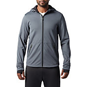 SECOND SKIN Men's Textured Full Zip Training Jacket
