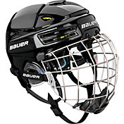 Bauer Senior RE-AKT 200 Ice Hockey Helmet Combo