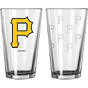 Boelter Pittsburgh Pirates 16oz. Satin Etched Pint Glass