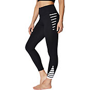 Betsey Johnson Women's Contrast Banded 7/8 Legging